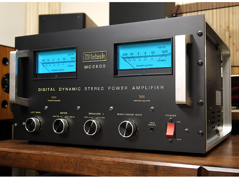 McIntosh MC2600 Power Amp For Sale (€1,500 EUR)   HiFi Zetta ...