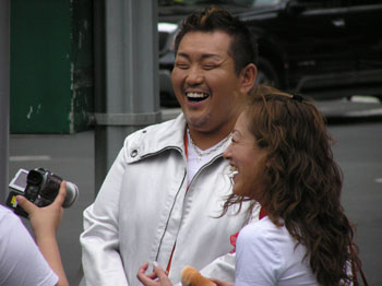 笑顔の江原さん