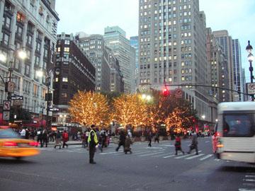 34丁目北側クリスマス・モード