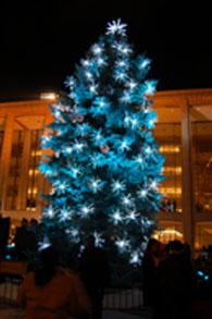 ブルーのツリー