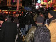 始まる前の報道陣