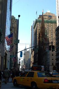 5番街57丁目から南方向