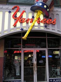 ヤンキースショップはクローズ