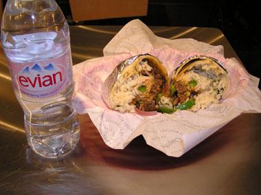 3 Burrito Barbacoa$6.95