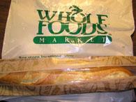 オーガニックフランスパン$1.99