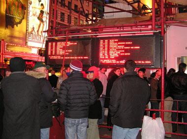 タイムズスクエアのTKTS