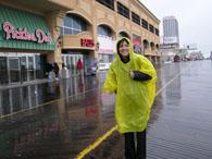 雨のアトランティックシティー