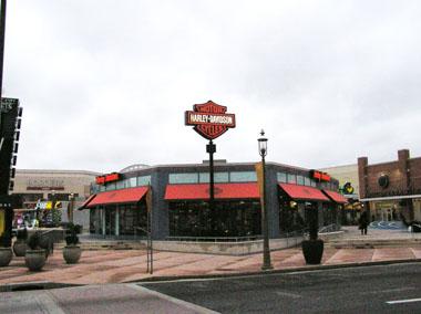 ハーレーダビッドソンのお店