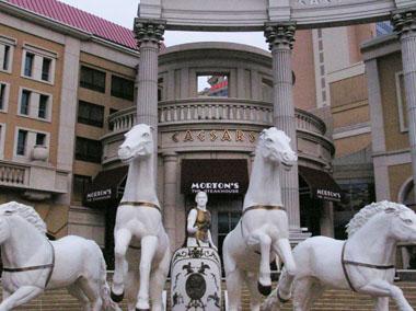 CaesarsHotelの玄関