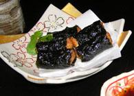 豆腐の磯辺揚げ