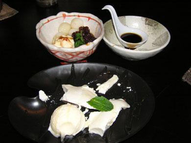 錦之介デザート2種