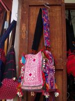 中国モン族の布カバン 2500B