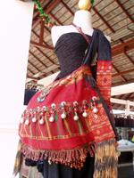 カチン族の布カバン 3500B