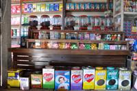 昔の映画館のお菓子売り場