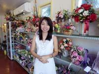 Iris Florist(オーナーのスッニサーさん)