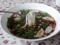Vietnamese style noodle Kuwei Chap