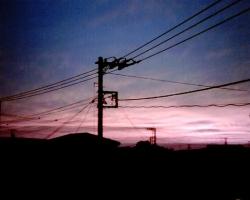 VQ1015で撮った夕焼け