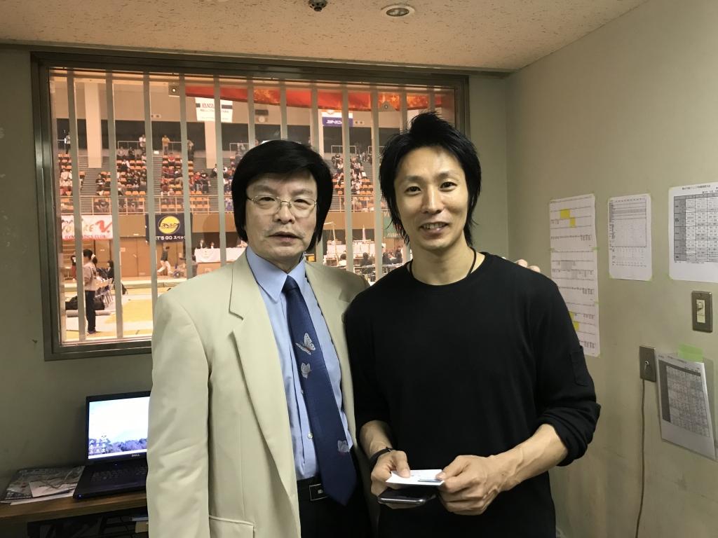 米田君と児嶋副会長