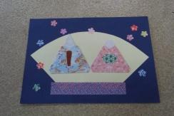 折り紙 ひなまつり1(小).jpg : 折り紙 ひなまつり : 折り紙
