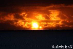 Curio Bayの朝日