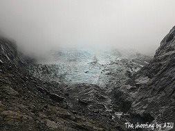 望遠で氷河を撮ってみた