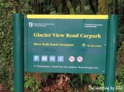 Glacier Piew Road 駐車場