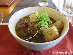 雑穀のスープ?