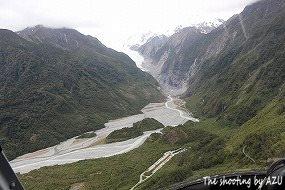 目指すFox Glacier
