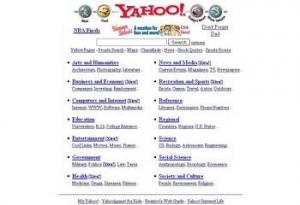 1996年Yahoo!