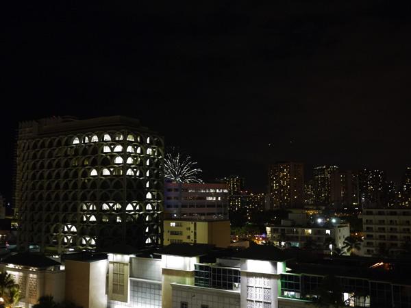 ハワイ 花火