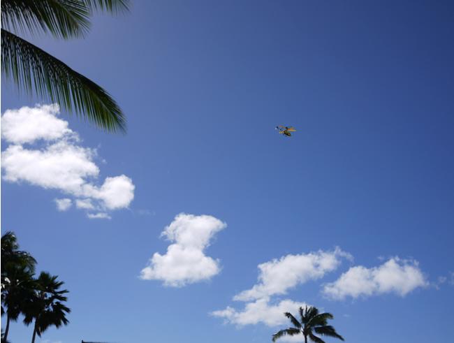 ハワイ ヘリ