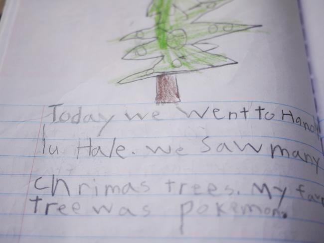 ハワイ クリスマスツリー