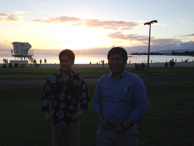 サンセット ハワイ