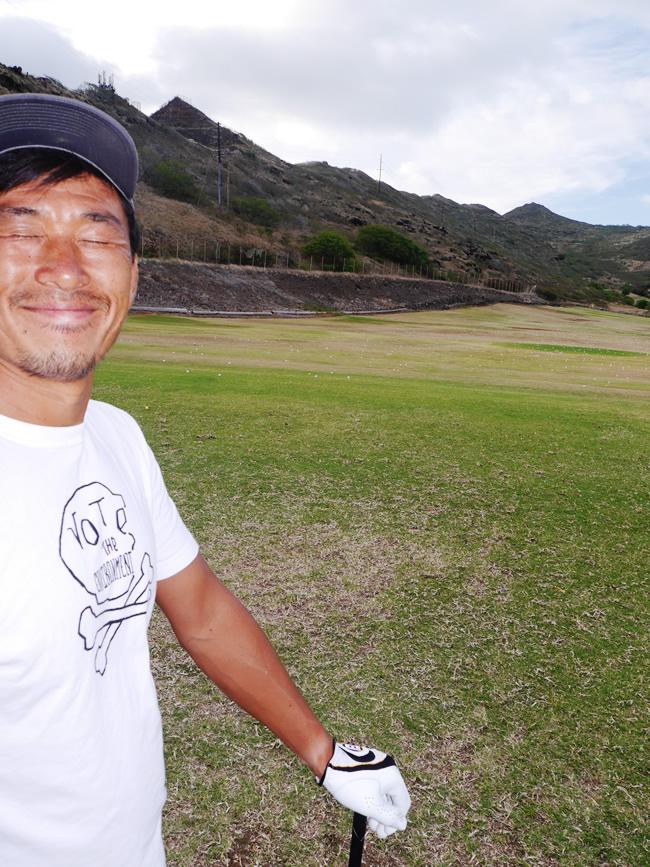 ハワイ サーフィン ゴルフ