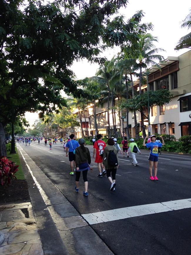 ホノルルマラソン ハワイ