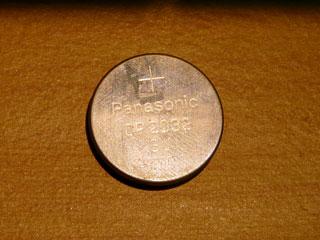 セガサターン 電池交換 CR2032