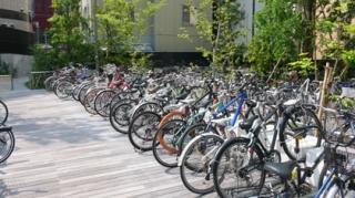 赤坂サカス駐輪場