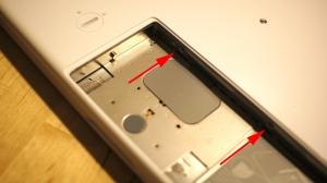 macbook 分解画像