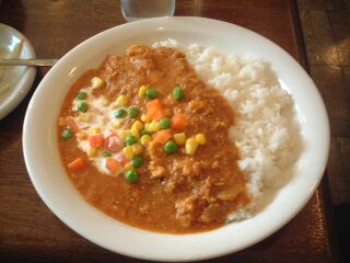 082 Shelly House キーマカレー