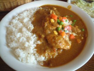082 Shelly House チキンカレー
