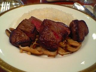291 帝国ホテル 和牛のフィレ肉のビーフカレー