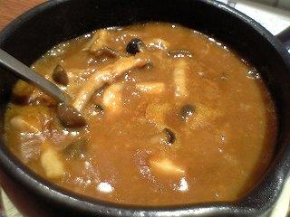 283 Hot Spoon きのこカレー