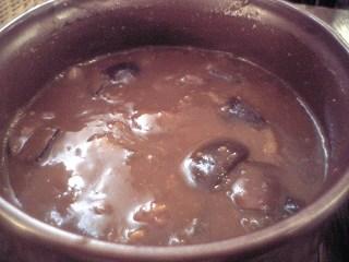 374 喜楽亭 野菜とひき肉のカレー