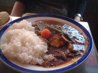 062 エチオピア 野菜カレー