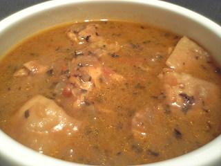 389 無印良品 インド風カレー チキン用 スープ