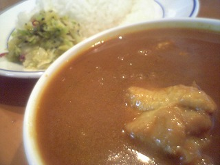 078 Ms curry チキンカレー