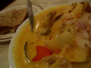 423 international curry チキンドピアザ
