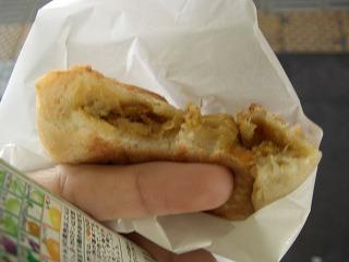 571 江ノ電の珈琲屋さん 玄米チーズカレーパン