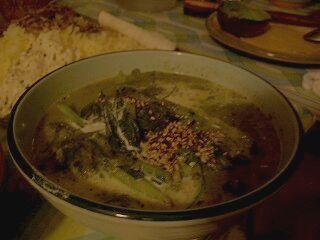 609 タピ 小松菜のカレー