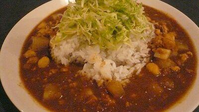 692 マシバシ ひよこ豆と大根と鶏挽肉のカレー